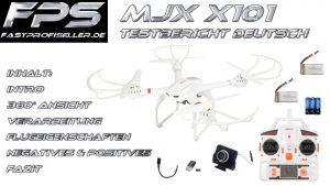 MJX X101 Review bzw. Testbericht