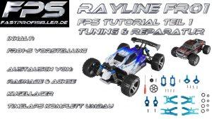 Rayline FR01 Tuning CNC Upgrade Ersatzteile einbauen